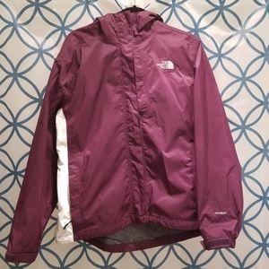 Northface hyvent/dryvent rain jacket-Lg